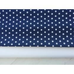 Estrellas blanca fondo azul