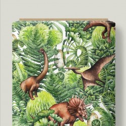 Dinosaurios selva