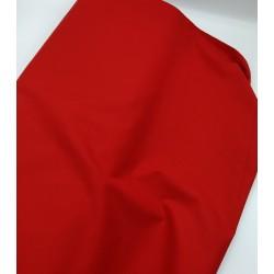 Cretona lisa roja